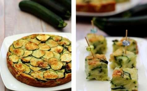Gâteau invisible aux courgettes et parmesan