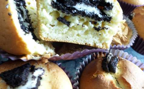 Muffins aux biscuits Oreo
