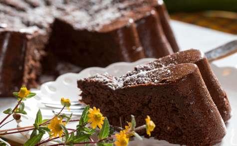 Fondant chocolat aux courgettes