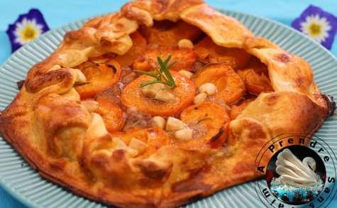 Croustade aux abricots et romarin