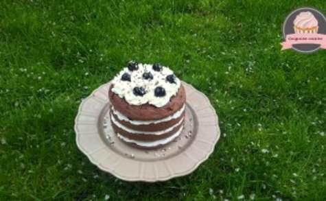 Forêt noire façon layer cake
