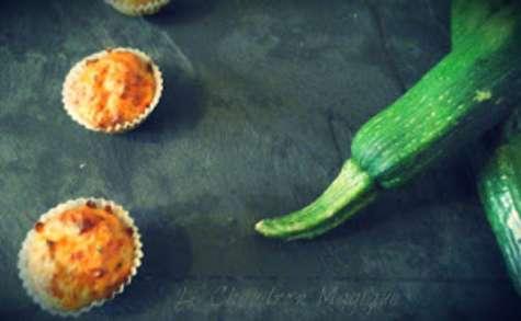 Mini muffins de courgette au pesto