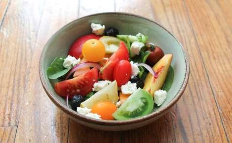 Salade estivale fraîche et gourmande