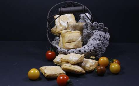 Petits pains ciabatta aux tomates confites