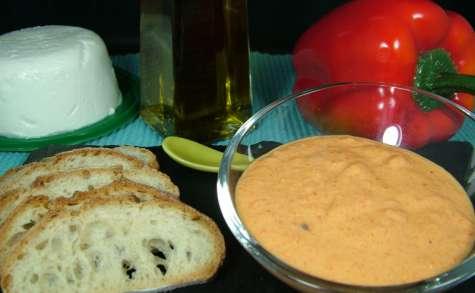 Poivronade : Caviar de poivron au chèvre