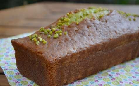 Cake pistache glacé au sirop de clémentines