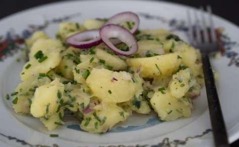 Salade de pommes de terre alsacienne (Grumbeere salad) – je vais vous cuisiner