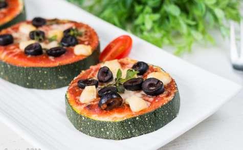 Rondelles de courgettes façon pizza (recette facile) | La Cuisine d'Adeline