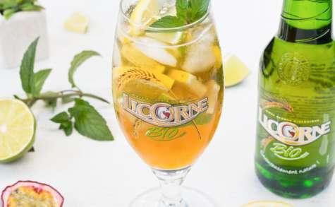 Cocktail exotique à la bière Licorne bio | La Cuisine d'Adeline