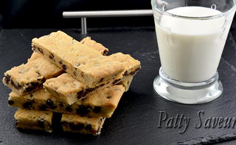 Shortbread cookies aux pépites de chocolat