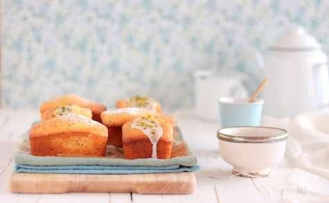 Petits cakes citron et graines de pavot