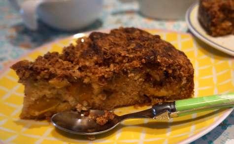 Gâteau crumble mirabelles