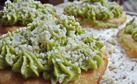 Mini-tartelettes au brocoli