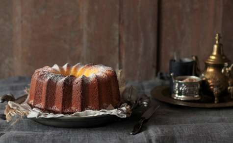 Bundt cake aux deux farines