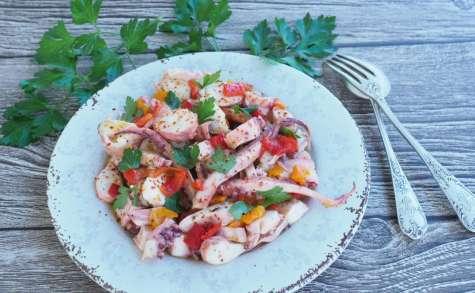 Salade de poulpe à la grecque