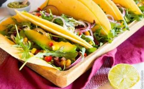 Tacos à la farine de maïs