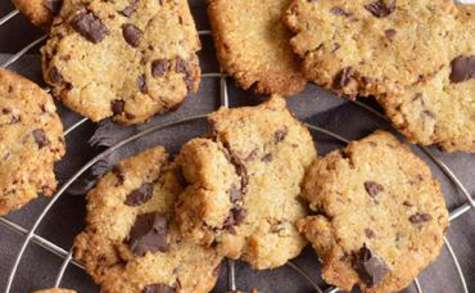 Cookies à la farine de riz-châtaigne
