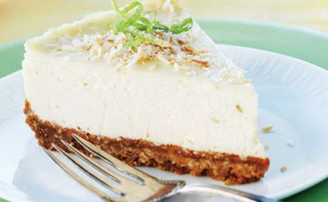 Cheesecake noix de coco et combava