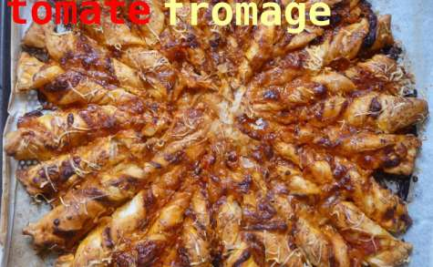 Tarte soleil tomate fromage