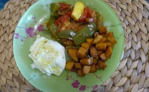 Légumes du soleil au chorizo