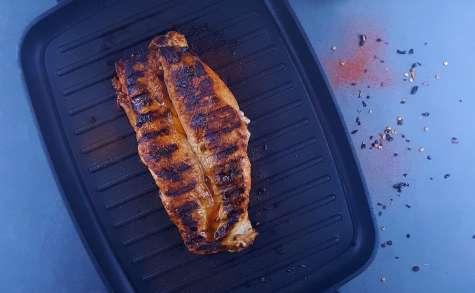 Filet mignon mariné-grillé