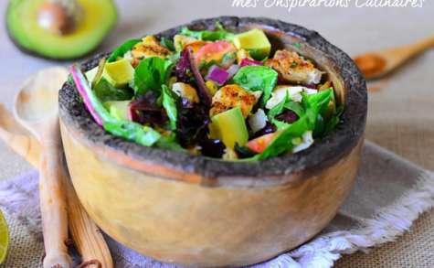 Salade mexicaine de poulet