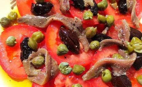 Tomates de Montserrat aux anchois