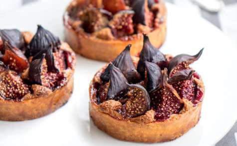Tartelettes figues et praliné