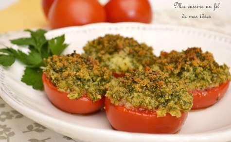 Tomates gratinées à la provençale