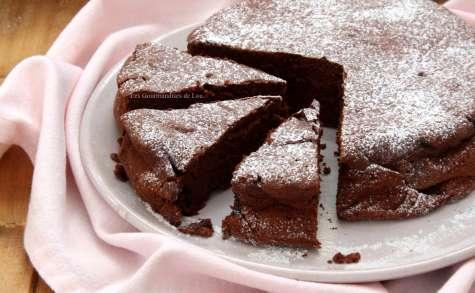 Gâteau au chocolat et mascarpone d'après Cyril Lignac