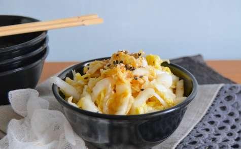 Salade de chou chinois à la japonaise