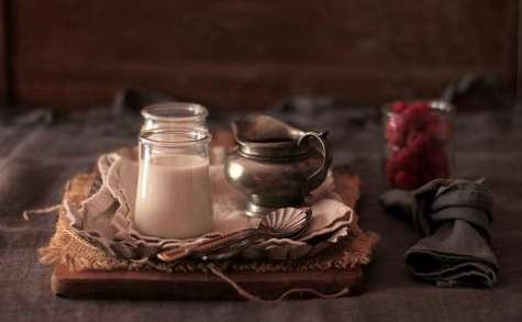 Panna Cotta à la Crème de Coco et Coulis de Framboises
