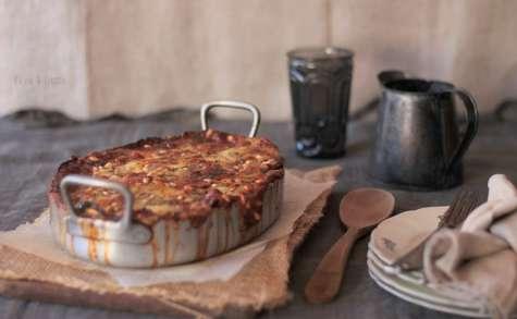 Lasagnes aux Aubergines Ricotta et Épinards