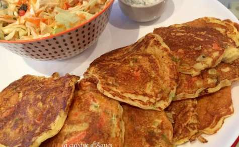 Blinis aux légumes et au curry