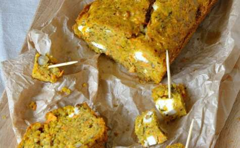 Carrot cake feta-noisette à l'huile d'olive