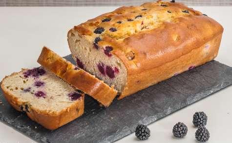 Gâteau du matin aux mûres