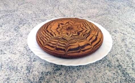 Zebra cake vanille-chocolat