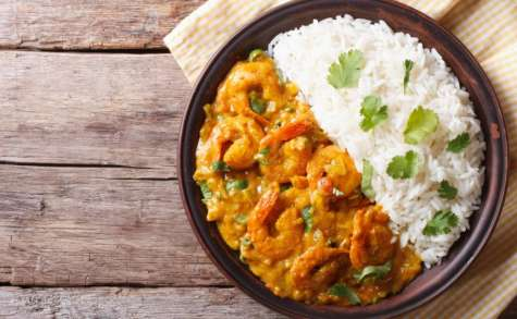 Curry de crevettes au Companion