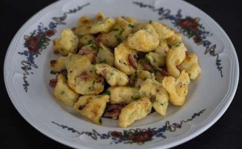Käseknepfle gnocchis au fromage blanc