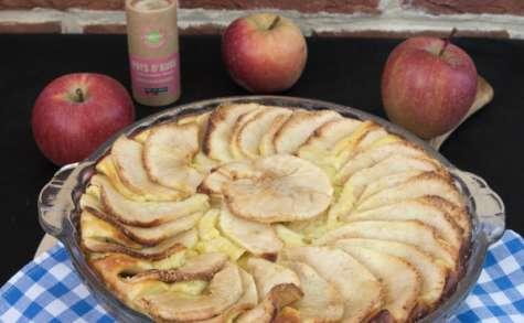 Le gâteau à la brousse et aux pommes