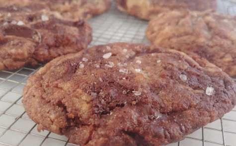 Cookies au Beurre Noisette et chocolat