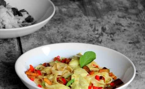 Tagliatelles au curry Thaï