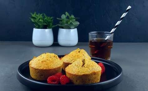 Muffins amande, noisette et fève tonka