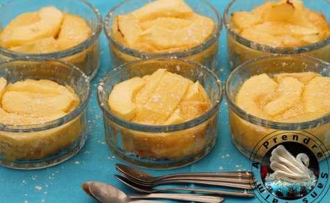Clafoutis pommes cannelle citron