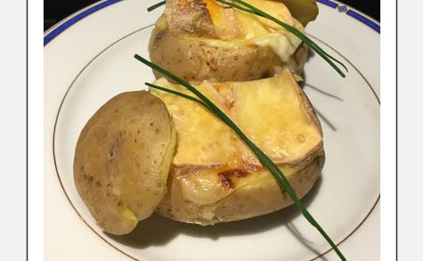 Pomme de terre façon raclette