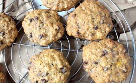 Cookies au butternut et pépites de chocolat