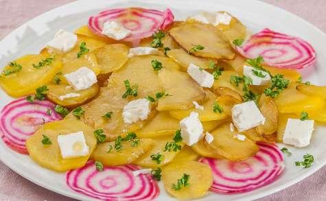 Salade de pommes de terre à la fêta