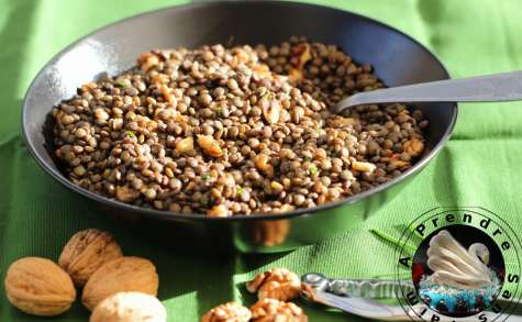 Salade de lentilles aux noix