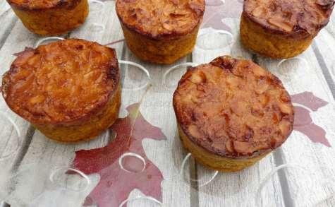 Gâteaux moelleux à la courge et à l'amande sans gluten