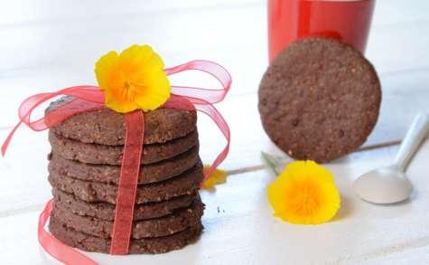 Biscuits cacao quinoa façon sablés